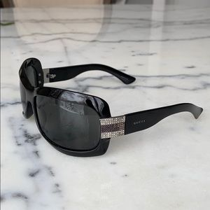 Gucci Sunglasses With Swarovski Crystals